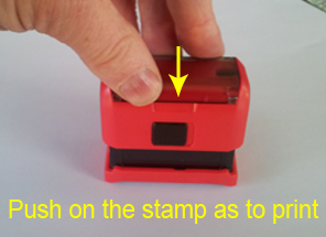 Rubber plate replacement Trodat Printy 4913 rubber stamp