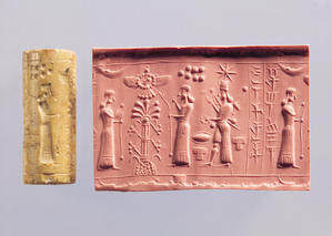 Mesopotamian stamping devices